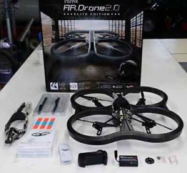 AR 2.0 Drone Elite Edition Sand Contenido Caja