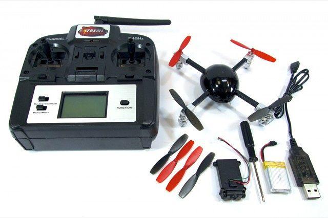 Micro Drone 2.0 Extreme Fliers Contenido Caja