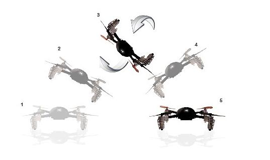 Micro Drone 2.0 Extreme Fliers Giroscopio