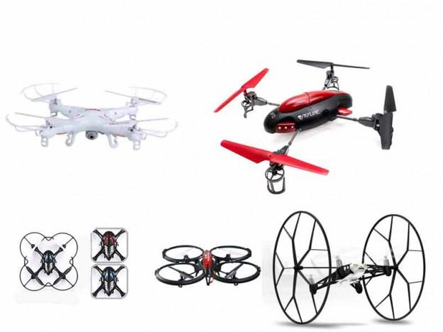 Comparativa de drones baratos de bajo coste