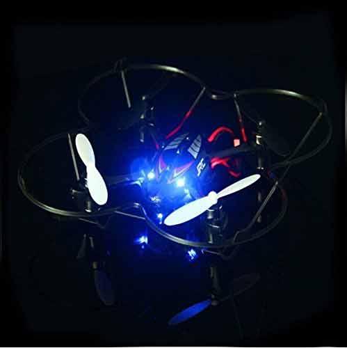 Comprar FamilyMall Drone JJRC H6C iluminacion