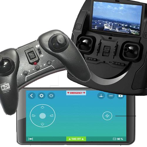 ¿ Qué drone comprar para empezar ? Controles remotos